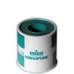 Urgo Urgopore Хипоалергенен лейкопласт за чувствителна кожа 5 см х 5 м
