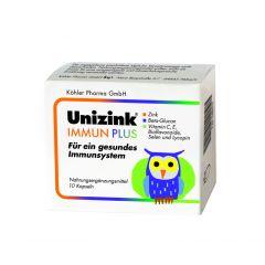 Юницинк Имун Плюс с цинк за силен имунитет 10 капсули Koehler Pharma