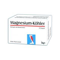 Магнезий Kьолер при крампи 30 капсули Koehler Pharma