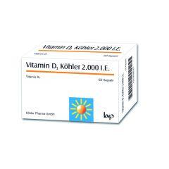 Витамин D3 Kьолер 2000IU 60 капсули Koehler Pharma