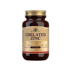 Solgar Zinc Chelated Хелатиран цинк 22 мг х100 таблетки