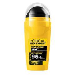 Loreal Men Expert Invincible Sport 96h Део рол-он против изпотяване за мъже 50 мл