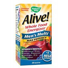 Nature's Way Alive Men's Multi Алайв мултивитамини за мъже х30 таблетки