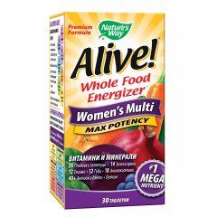 Nature's Way Alive Women's Multi Алайв мултивитамини за жени х30 таблетки