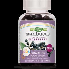Nature's Way Sambucus Kids Gummies за имунитет през зимата х60 желирани таблетки