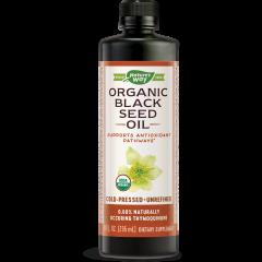 Nature's Way Organic Black Seed Oil Масло от черен кимион с противовъзпалително действие 100% органик х235 мл