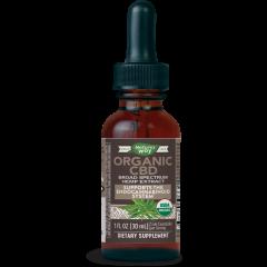 Nature's Way Organic CBD Конопено масло при стрес и депресия х30 мл