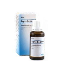 Heel Тартефедрил При суха кашлица Перорални капки, разтвор 30 мл
