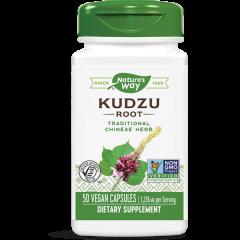 Nature's Way Kudzu Root Корен от Кудзу при алкохолна и никотинова зависимост 613 мг х50 капсули