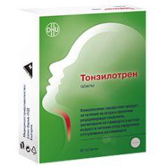 Тонзилотрен при възпаления на лимфните жлези х60 таблетки DHU