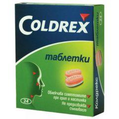 Coldrex Колдрекс при настинка и грип х24 таблетки GlaxoSmithKline