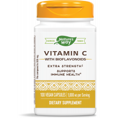 Nature's Way Vitamin C With Bioflavonoids Витамин C и биофлавоноиди 1000 мг х100 V капсули