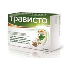 Трависто за здрава храносмилателна система х30 таблетки Aflofarm