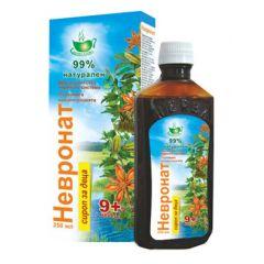 Herbamedica Невронат сироп за деца 9 м+ при нервни разстройства 250 мл