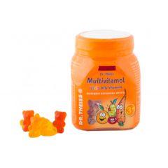 Dr. Theiss Multivitamol желирани мечета за деца х50 броя