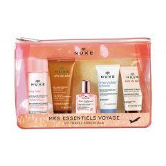 Nuxe My Travel Essentials Промо комплект за път ''Заблестете с Nuxe 2020'' + Подарък: Несесер