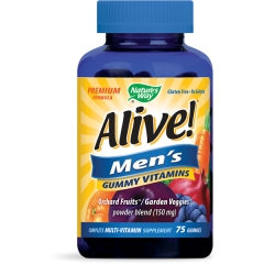 Nature's Way Alive Men's Алайв витамини за мъже х75 желирани таблетки