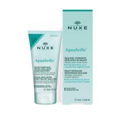Nuxe Aquabella Хидратираща емулсия 50 мл + Подарък: Nuxe Aquabella Микроексфолиращ почистващ гел 30 мл Комплект