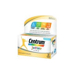 Centrum Junior от А до Цинк х30 дъвчащи таблетки Pfizer