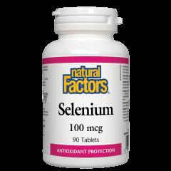 Natural Factors Selenium Селен антиоксидант 100 мкг х 90 таблетки