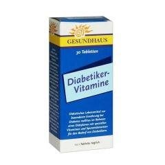 Diabetiker Витамини за диабетици х30 таблетки Woerwag Pharma