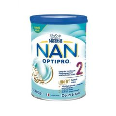 Nestle NAN Optipro 2 HM-O Преходно мляко за бебета 6-12М 400 гр