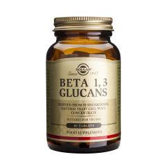 Solgar Beta 1,3 Glucans  Бета 1,3 Глюкани подсилва издръжливостта на организма х60 таблетки
