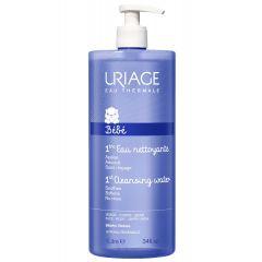 Uriage Bebe 1er EAU Почистваща вода за бебета без изплакване 1000 мл