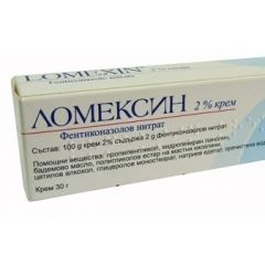 Ломексин крем при гъбични инфекции 2% х 30 гр PharmaSwiss