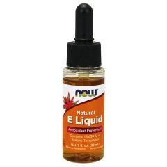 Now Foods Natural VitaminE Liquid Натурален витамин Е течен 13,650 IU 25 мл