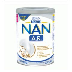 Nestle NAN A.R. Формула за кърмачета против повръщане (регургитация) 0+М 400 гр