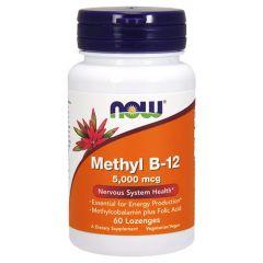 Now Foods Methyl B-12 Витамин Б-12 5000мкг х 60 дражета