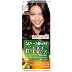 Garnier Color Naturals Трайна боя за коса, Cold  Browns 4.12 Iced Brown