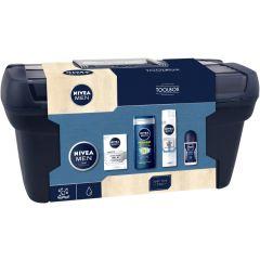 Nivea Men Toolbox Gift Set 2 Подаръчен комплект за мъже с кутия за инстументи