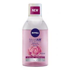 Nivea Micellair Expert Двуфазна мицеларна вода за отстраняване на водоустойчив грим с розово масло 400 мл