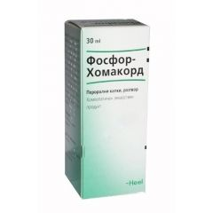 Heel Фосфор-Хомакорд При пресипналост Перорални капки, разтвор 30 мл