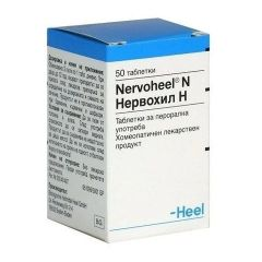 Heel Nervoheel N При емоционални смущения х50 таблетки