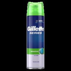 Gillette Series Sensitive Гел за бръснене за чувствителна кожа 200 мл