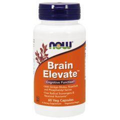 Now Foods Brain Elevate Формула подкрепяща мозъчната дейност х 60 капсули