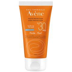 Avene Sun Слънцезащитен флуидза лице SPF30 50 мл