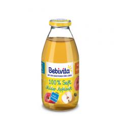 Bebivita сок меки ябълки без глутен 4М+ 200 мл