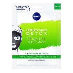 Nivea Urban Detox 10-минутна детоксикираща лист маска за лице 1 бр