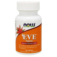 Now Foods Eve Мултивитамини за жени х 90 таблетки