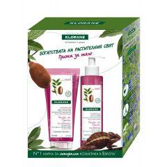 Klorane Подхранващ душ-гел с лист от смокиня и органично масло от купуасу 200 мл + Klorane Подхранващо мляко за тяло с лист от смокиня и органично масло от купуасу 200 мл Комплект