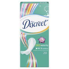 Discreet Deo waterilily Ежедневни дамски превръзки водна лилия 20 бр