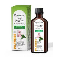 Dr. Theiss Мукоплант сироп с бръшлян при продуктивна кашлица х100 мл