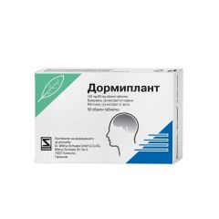 NaturProdukt Дормиплант при безсъние х50 таблетки