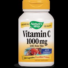 Nature's Way Vitamin C With Rose Hips Витамин C и шипка 1000 мг х100 капсули