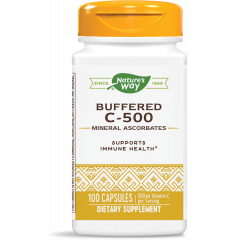 Nature's Way Buffered C-500 Витамин C буфериран 500 мг х100 капсули