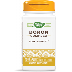 Nature's Way Boron Complex Бор за здрави кости и стави 3 мг х100 V капсули
